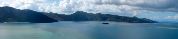 View from Lookout on Hayman Island, 2013