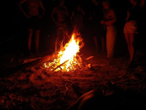 Beach Campfire, 2013