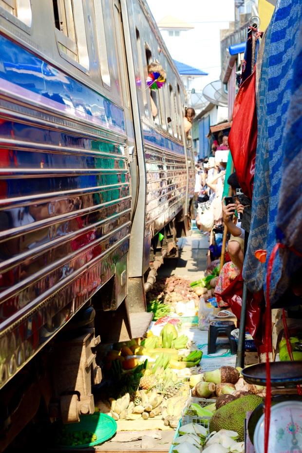 Maeklong Railway Markets, Bangkok 2015