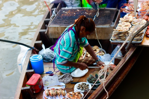 Amphawa Floating Markets, Bangkok 2015